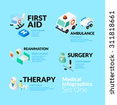 medical healthcare infographic... | Shutterstock .eps vector #311818661