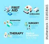 medical healthcare infographic... | Shutterstock .eps vector #311818661