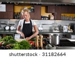 pretty young blond woman...   Shutterstock . vector #31182664