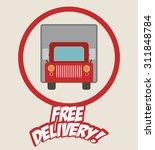 transportation  digital design  ... | Shutterstock .eps vector #311848784