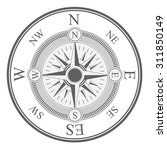 compass digital design  vector... | Shutterstock .eps vector #311850149