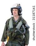 U.s. Navy Fighter Pilot In Ful...
