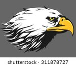 Eagle Face Vector   Side View...