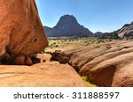 Landscape With Massive Granite...
