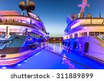 the port of antibes  french... | Shutterstock . vector #311889899