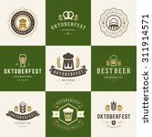 retro style labels  badges and... | Shutterstock .eps vector #311914571
