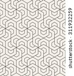 vector seamless pattern. modern ... | Shutterstock .eps vector #311932259