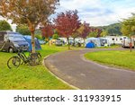 green camping loan in europe... | Shutterstock . vector #311933915