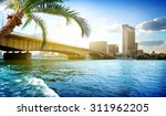 Bridge On The Nile Dividing...