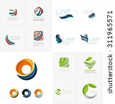 universal abstract geometric... | Shutterstock . vector #311965571