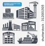 building industry and... | Shutterstock .eps vector #312001505