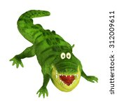 cartoon crocodile | Shutterstock . vector #312009611