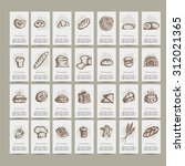 bakery collection  sketch for... | Shutterstock .eps vector #312021365