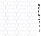 white paper cube seamless... | Shutterstock .eps vector #312055247
