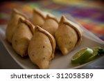 indian snack | Shutterstock . vector #312058589