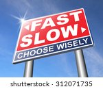 Fast Or Slow Pace  Lane Or...
