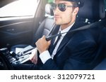 portrait of a handsome male... | Shutterstock . vector #312079721