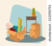 moved   vector illustration of... | Shutterstock .eps vector #312090701
