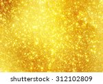 shiny golden background | Shutterstock . vector #312102809