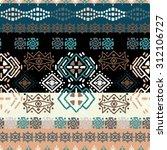 ethno seamless pattern. ethnic...   Shutterstock .eps vector #312106727