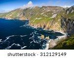 slieve league cliffs  county... | Shutterstock . vector #312129149