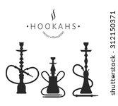 Hookah Labels. Set Of Hookah...