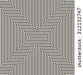 abstract seamless geometric x... | Shutterstock .eps vector #312152747