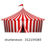 vector illustration of circus... | Shutterstock .eps vector #312154385