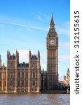 Famous Big Ben Clock Tower In...