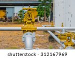 oil pipeline   gas station .  | Shutterstock . vector #312167969