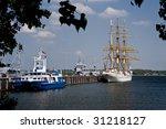 Scene In The Port Of Kiel  ...