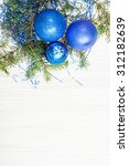 christmas greeting card  ... | Shutterstock . vector #312182639
