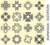 set of design elements for... | Shutterstock .eps vector #312193154