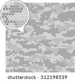 digital camouflage seamless... | Shutterstock .eps vector #312198539