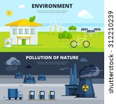 environment and pollution of... | Shutterstock .eps vector #312210239
