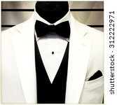 detail of a tuxedo and... | Shutterstock . vector #312222971