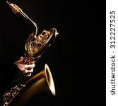 Saxophone Player Jazz Music...
