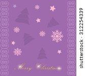 vector illustration abstract... | Shutterstock .eps vector #312254339