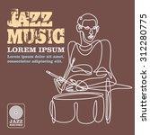 jazz   Shutterstock .eps vector #312280775