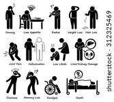 medication drug side effects...   Shutterstock .eps vector #312325469