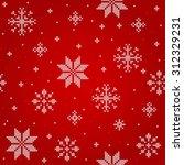 merry christmas seamless pattern   Shutterstock .eps vector #312329231