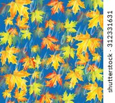 autumn background.background... | Shutterstock .eps vector #312331631