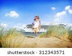 Couple Beach Cruise Vacation...