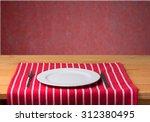 plate. | Shutterstock . vector #312380495