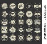 grunge rubber stamp premium... | Shutterstock .eps vector #312388601