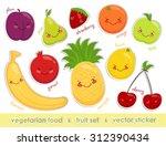 vector image of labels of... | Shutterstock . vector #312390434