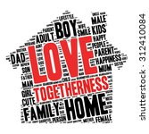 family info text graphics and... | Shutterstock .eps vector #312410084