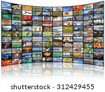 a variety of images as a big... | Shutterstock . vector #312429455