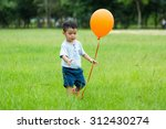 asian little boy play with... | Shutterstock . vector #312430274