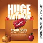 Huge Autumn Sale Shopping Bag...